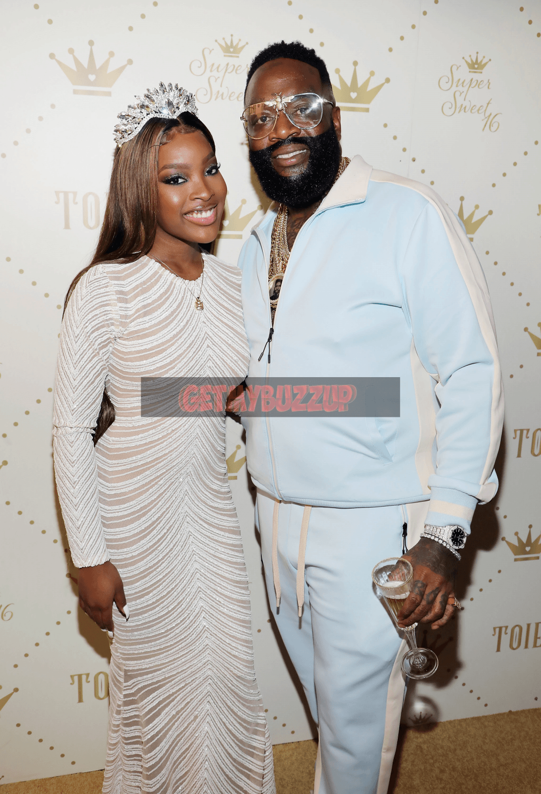 "Celeb Stalking: RICK ROSS, A-BOOGIE WIT DA HOODIE, KASH DOLL ATTEND TOIE ROBERTS ""ROYAL COURT"" THEMED SUPER SWEET SIXTEEN [PHOTOS]"