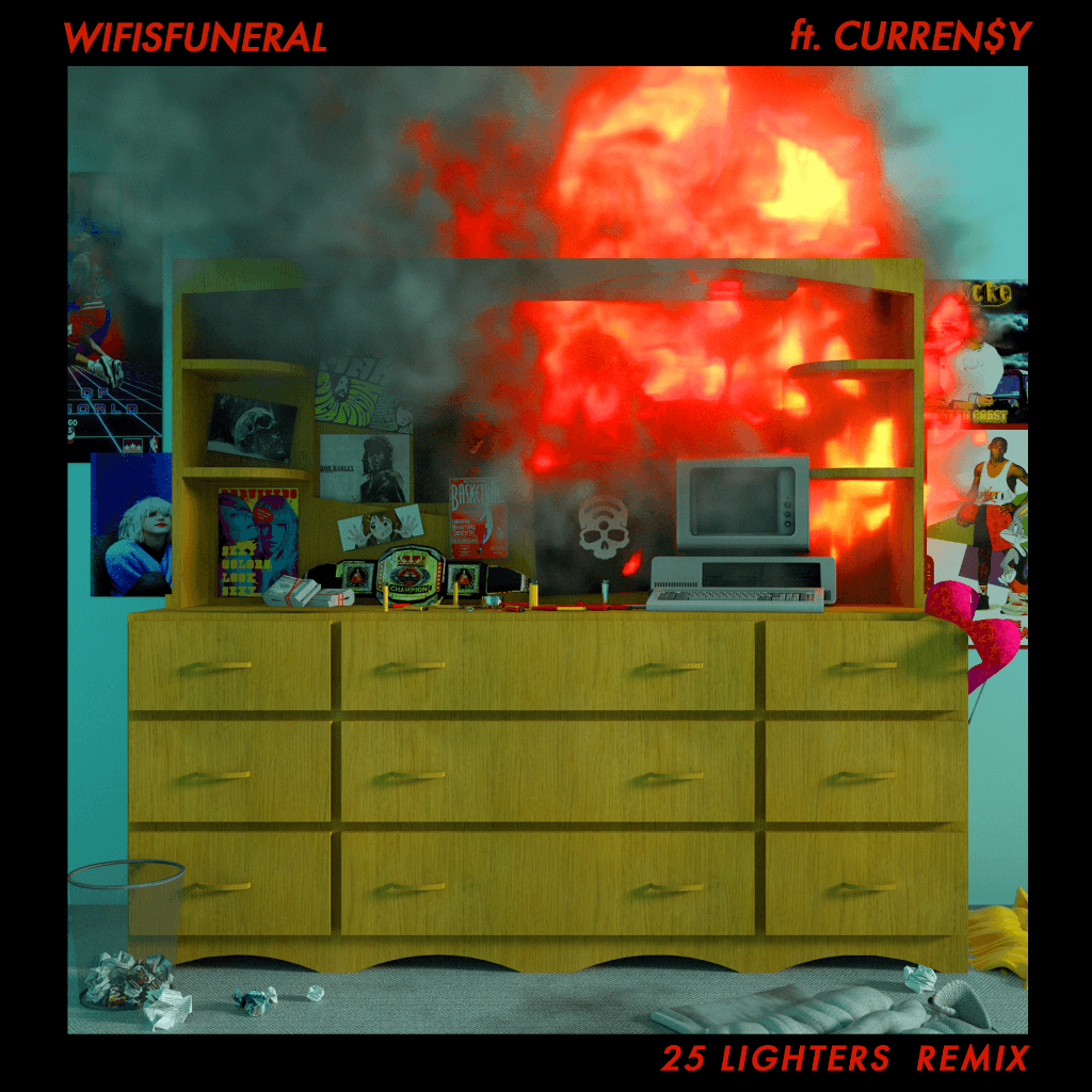 """Wifisfuneral Ft. Curren$y 