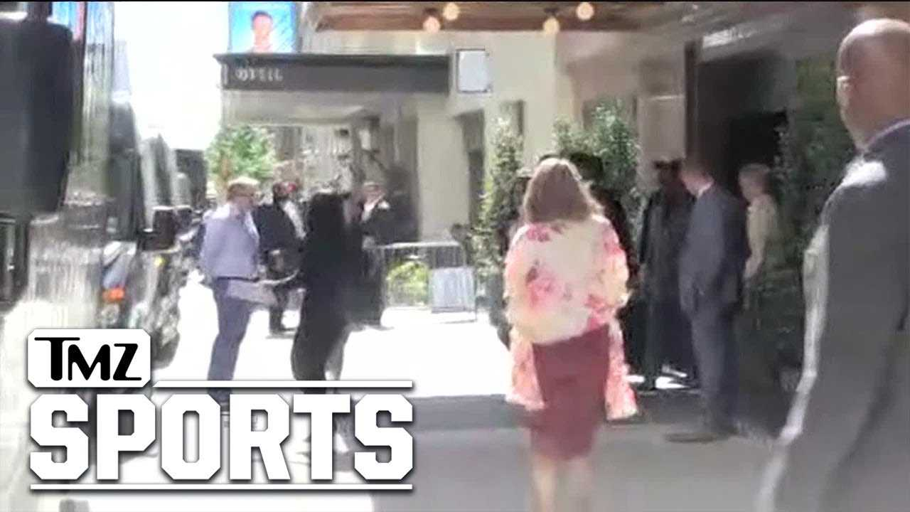 NFL Prospects Make Fashion Statements On Way to Draft | TMZ Sports