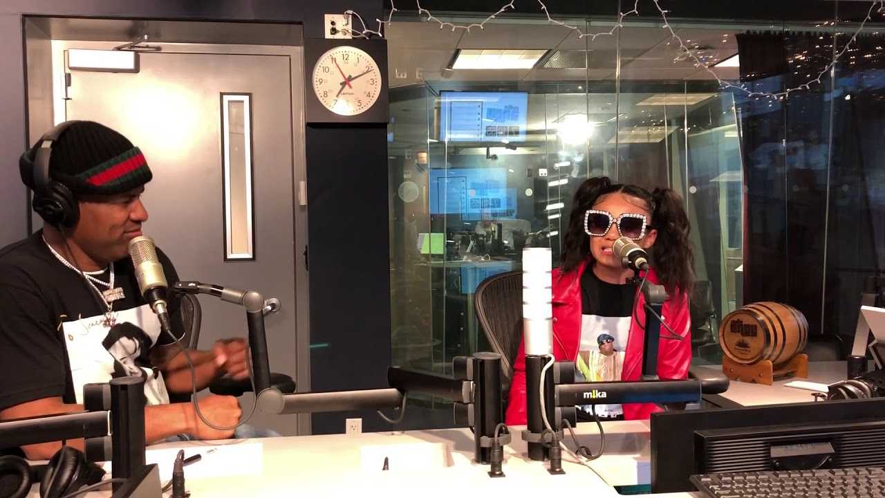 BROOKYLYN QUEEN FREESTYLE WITH DJ WHOO KID ON SHADE 45