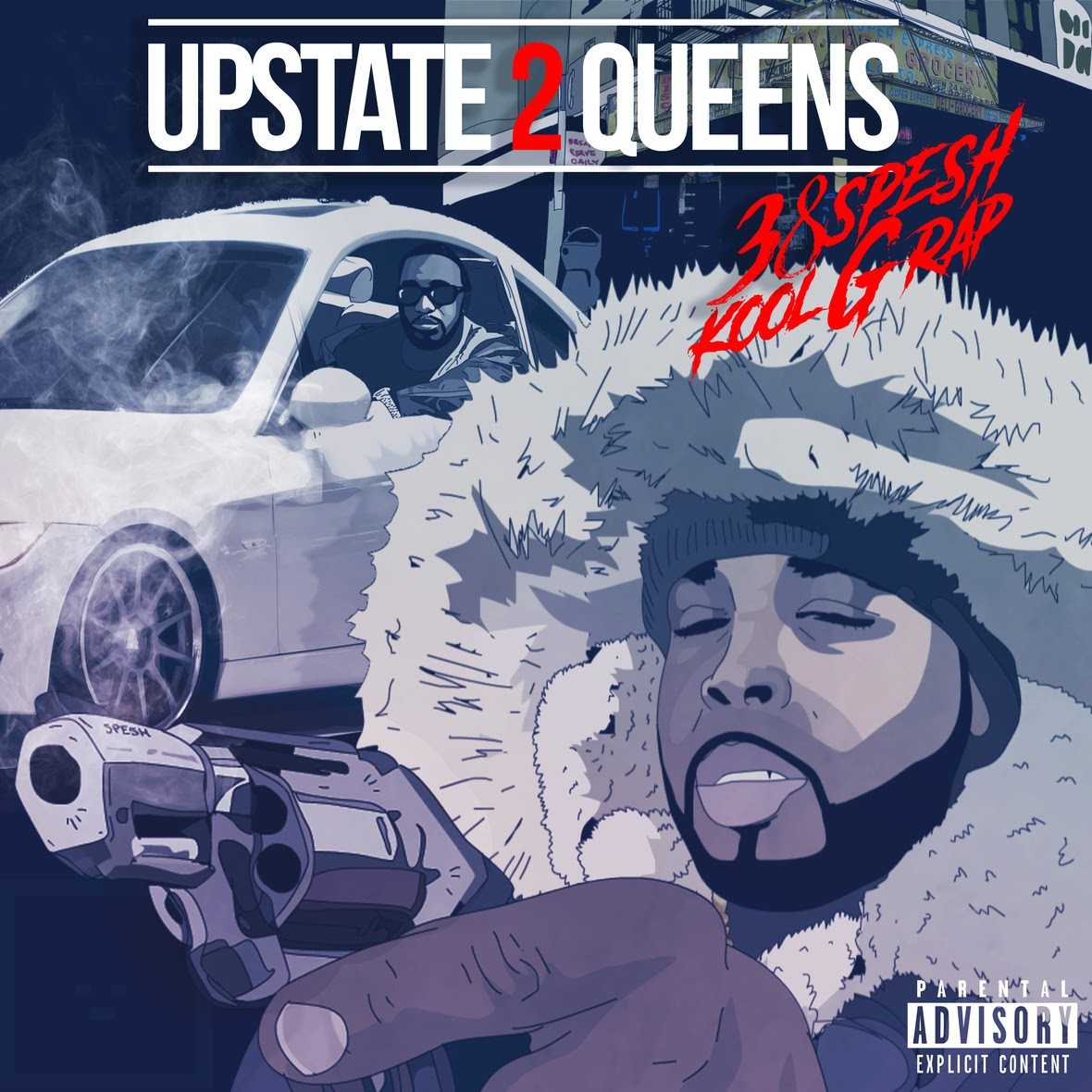 "38 Spesh & Kool G Rap | ""Upstate 2 Queens"" [Audio]"