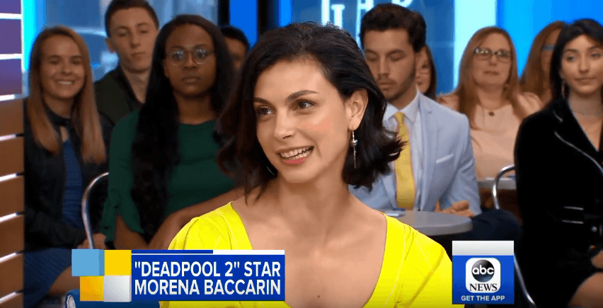 Actress Morena Baccarin Talks 'Deadpool 2' on GMA #deadpool2 [Interview]
