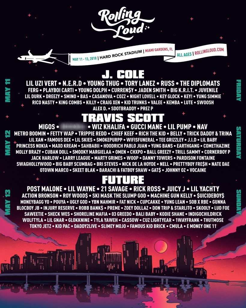 Rolling Loud Festival Adds Lil Durk, Moneybagg Yo, Tee Grizzley and More Artists, Including a Special Guest, to its 2018 Lineup
