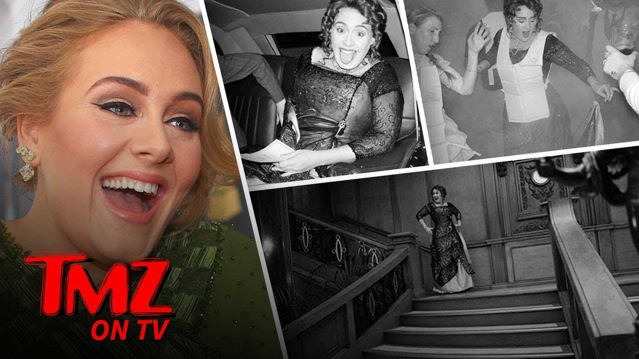 Adele Turns 30 With A Titanic Themed Party! | TMZ TV