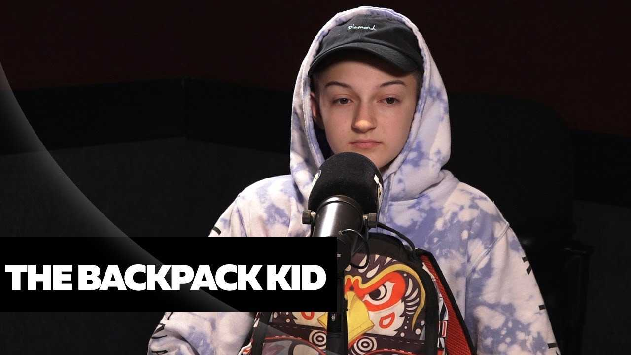 Backpack Kid Shows Ebro in the Morning How To Floss!