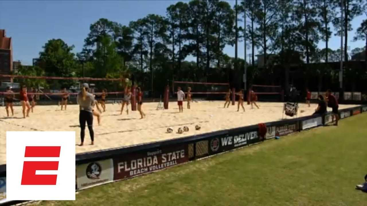Collegiate beach volleyball players and coaches reflect on growing reach and popularity | espnW