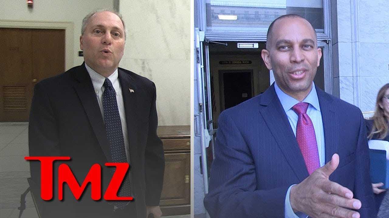 Congressmen Steve Scalise & Hakeem Jeffries Respond to N  Korea Releasing Americans | TMZ