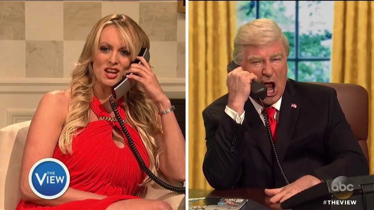 Does 'Saturday Night Live' Cameo Hurt Stormy Daniels' Credibility? | The View