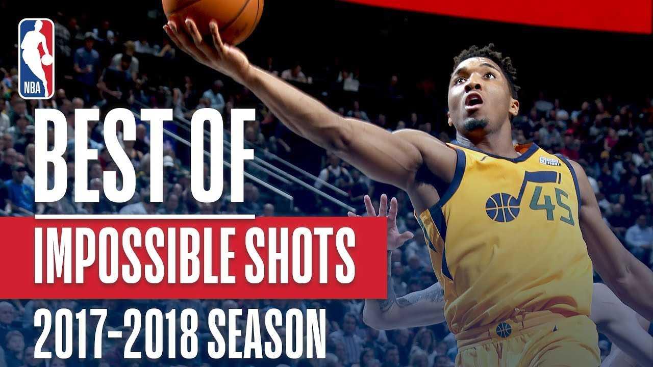 Donovan Mitchell: Best Impossible Shots 2017-2018 Regular Season
