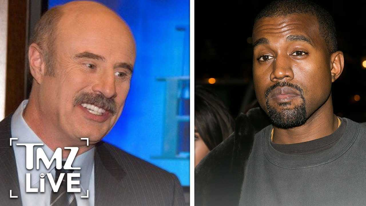 Dr. Phil Speaks On Kanye's Mental Health | TMZ Live