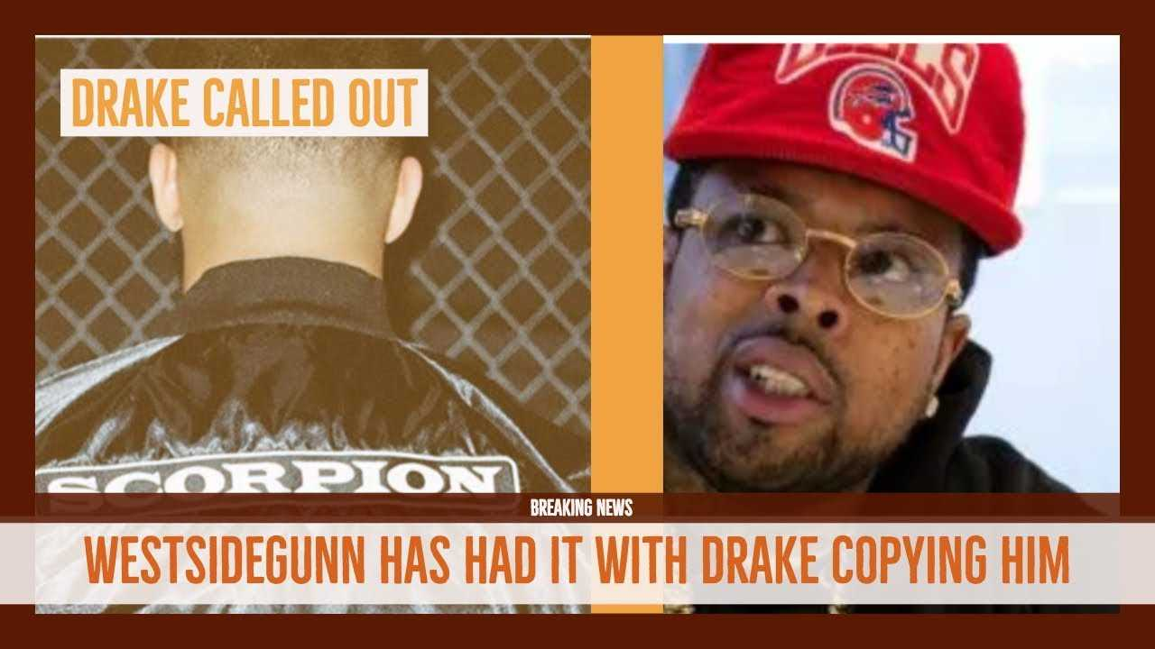 Drake CALLED OUT For Copying by Westside Gunn 'He Knows The Scorpion is my thing'