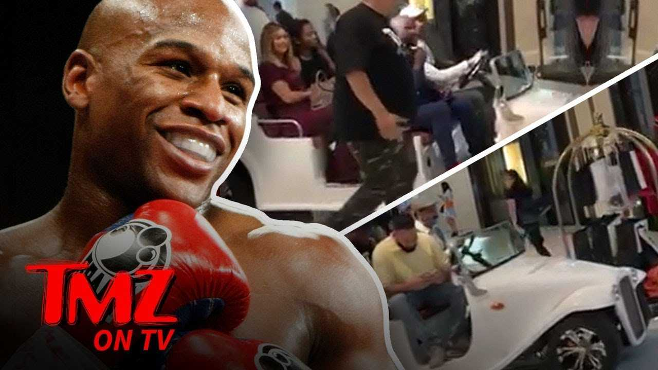 Floyd Is Too Good To Walk Through The Mall | TMZ TV