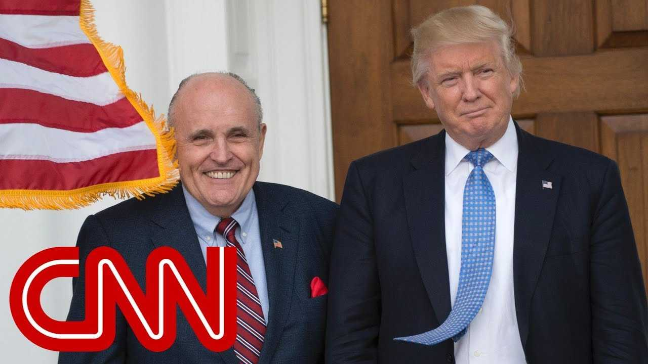 Giuliani says Trump repaid lawyer for Stormy Daniels hush money
