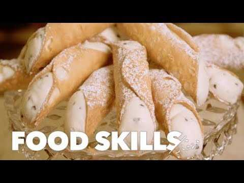 How Cannoli Are Made | Food Skills