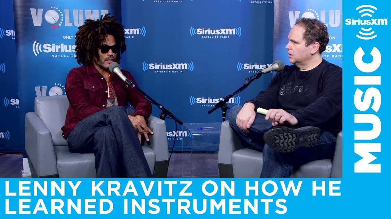 How Lenny Kravitz learned to play instruments