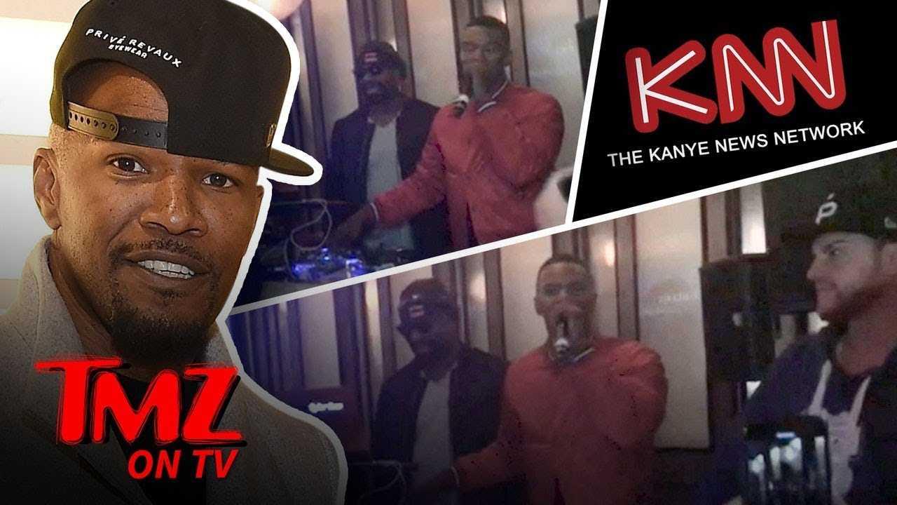 Jamie Foxx Criticizes TMZ for Kanye West Interview | TMZ TV