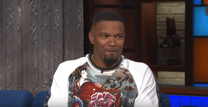 Jamie Foxx Stops By The Late Show with Stephen Colbert [Interview]