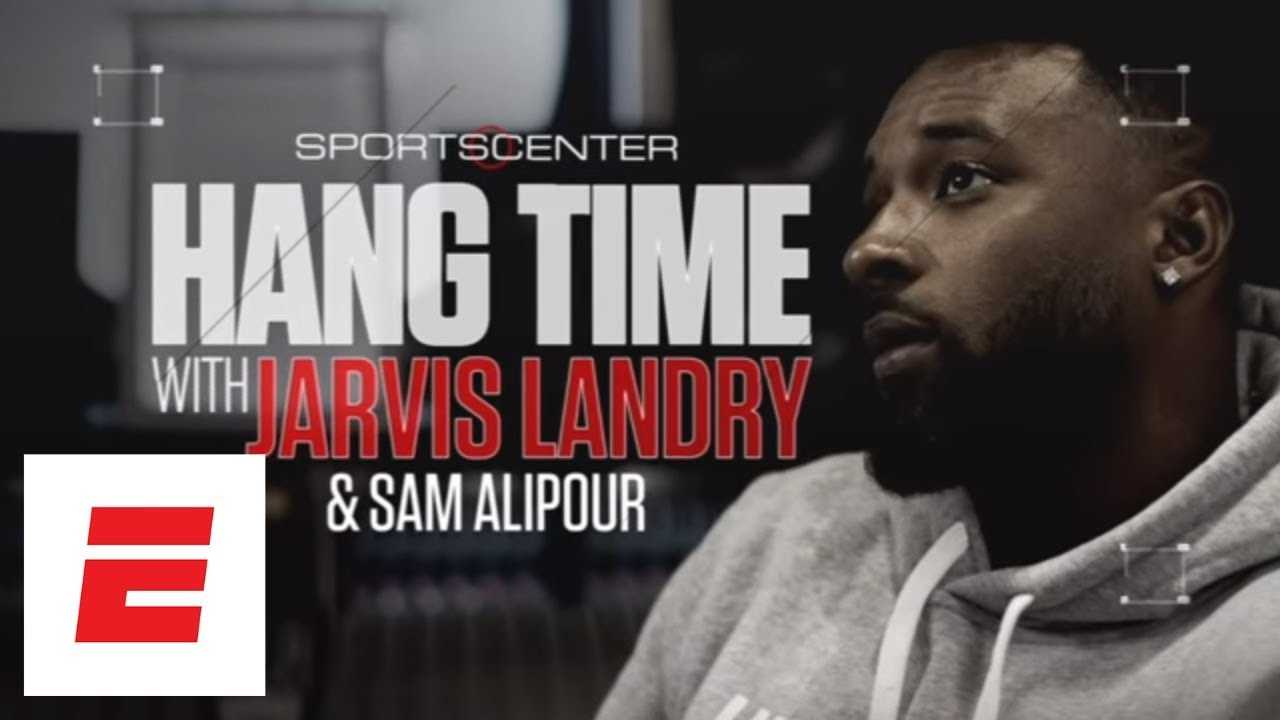 Jarvis Landry freestyles to Odell Beckham via FaceTime | Hang Time with Sam Alipour | ESPN Archives