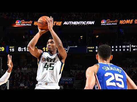 "Jazz G Donovan Mitchell on Rookie of the Year Award: ""I'm Past It"" 