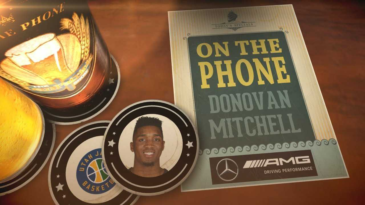 Jazz G Donovan Mitchell Talks Playoffs, ROY Award & More with Dan Patrick | Full Interview | 5/1/18