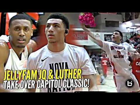 JellyFam Jahvon Quinerly & Luther Muhammad TAKE OVER D.C.! Capitol Classic FULL Highlights!