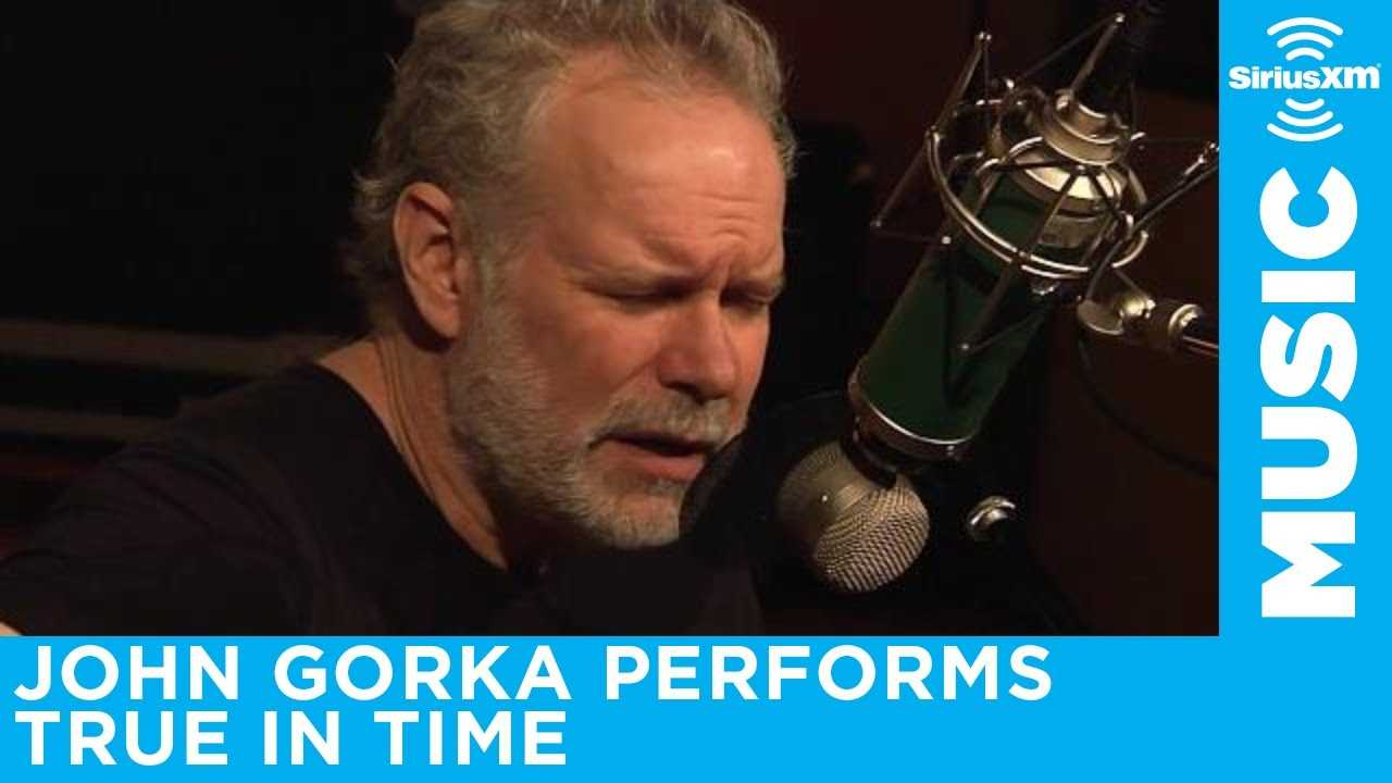 John Gorka performs True In Time LIVE at SiriusXM