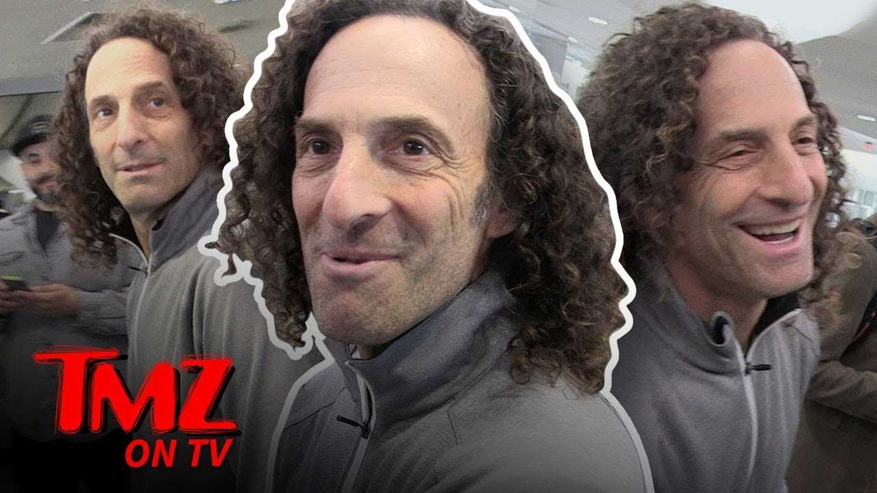 Kenny G's Saxophone Is For His Lips Only! | TMZ TV