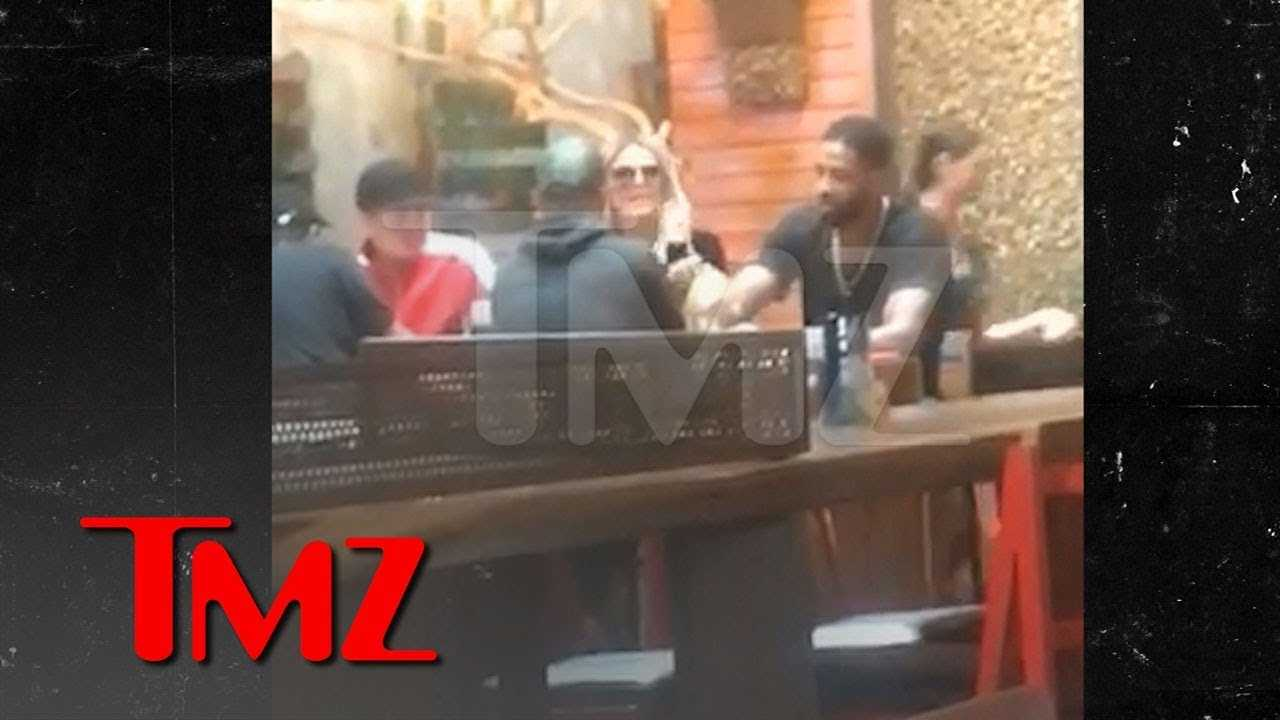 Khloe and Tristan Together Again After Cheating Scandal   TMZ