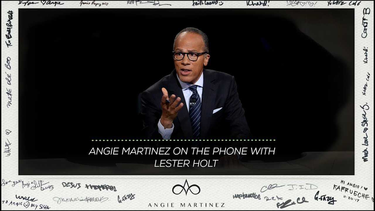 Lester Holt Discusses Upcoming Meek Mill Special