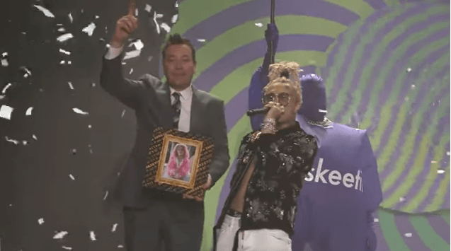 """LIL PUMP PERFORMS """"ESSKEETIT"""" ON THE TONIGHT SHOW WITH JIMMY FALLON!"""