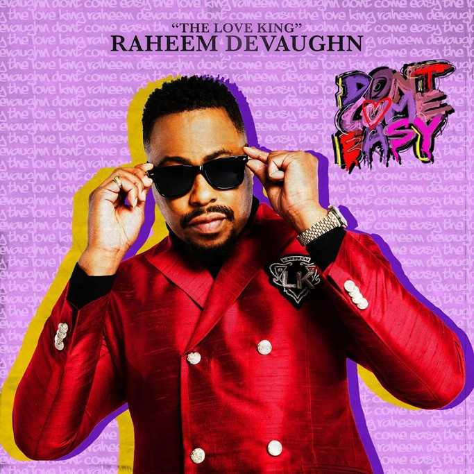"Listen: Raheem DeVaughn Releases Sultry New Single ""Don't Come Easy"" [Audio]"