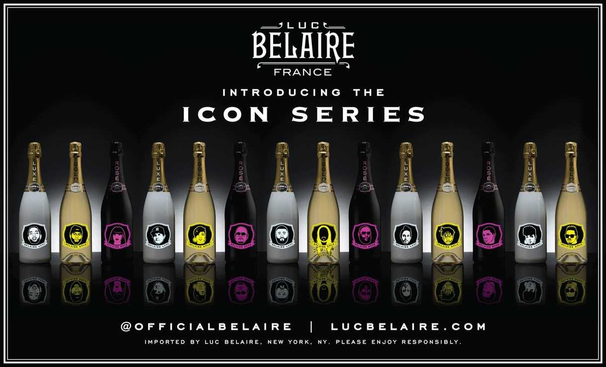 Luc Belaire launches Icon Bottle Series featuring Fat Joe, DJ Khaled, Trina and more! [Photos]