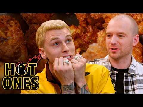 Machine Gun Kelly Has a Rematch with the Wings of Death | Hot Ones Throwback