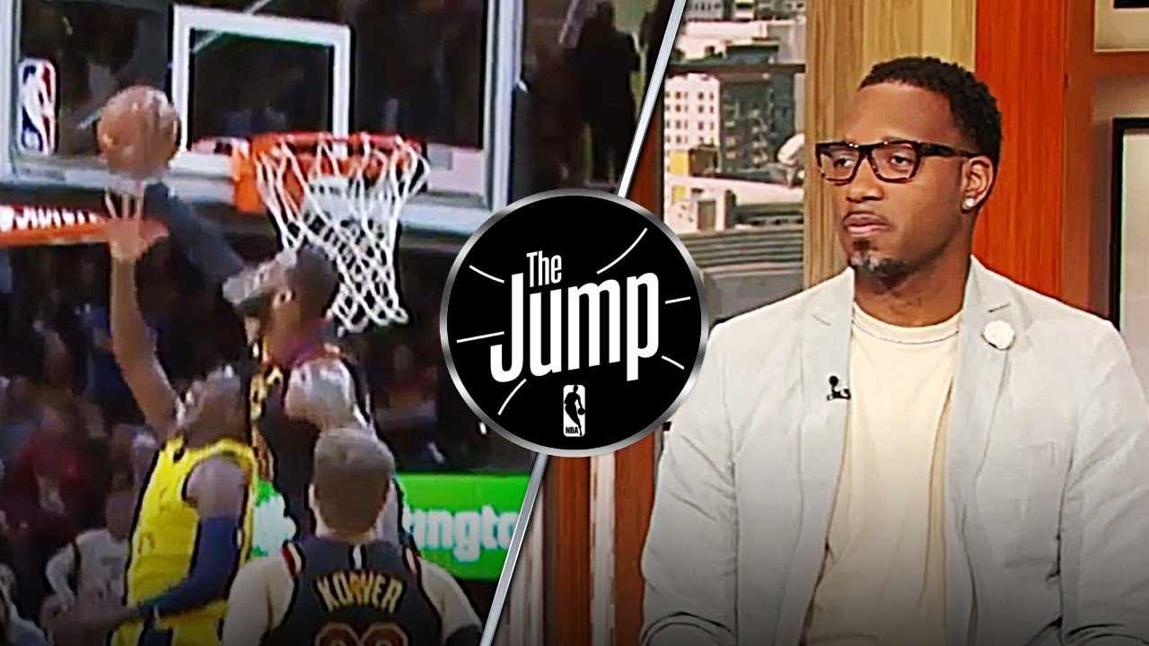 McGrady Blames NBA's Review Policy For LeBron's Goaltend On Oladipo | The Jump