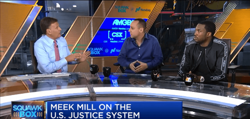 Meek Mill & 76ers co-owner Michael Rubin talks inequality in the U.S. justice system on CNBC Today [Interview]