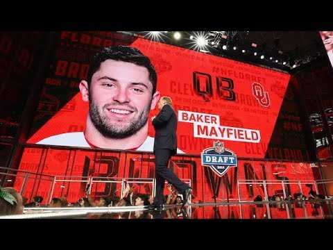 MMQB's Andrew Brandt on Pats Trading Up for Baker Mayfield | The Dan Patrick Show | 5/2/18