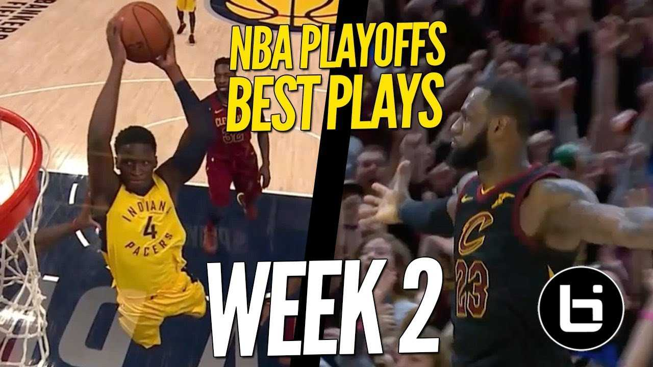 NBA Playoffs | Top 10 Plays of Week 2!!