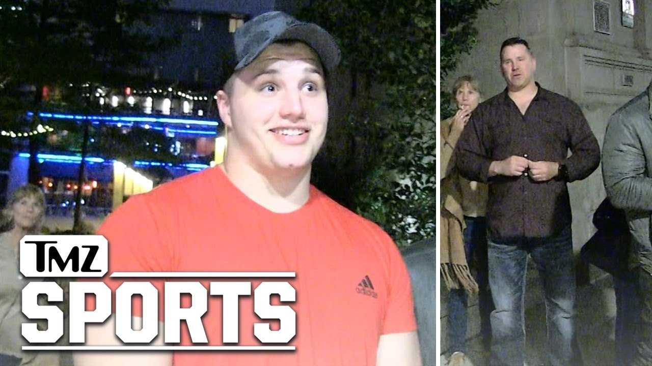 NFL Draft's Taven Bryan Lectured By Dad: You're Not Paying My Bills! | TMZ Sports