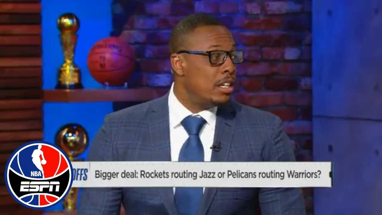 Paul Pierce can't get over how badly Pelicans blew out Warriors in Game 3 | NBA Countdown | ESPN