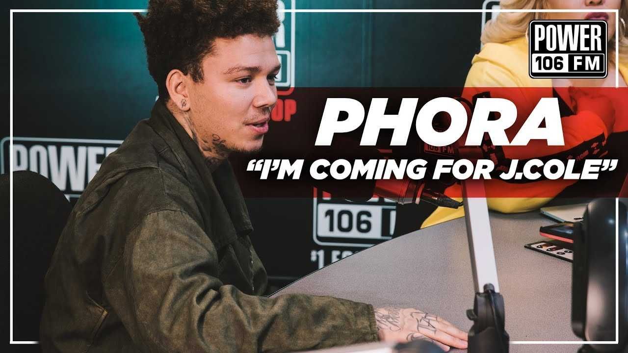 "Phora ""I'm Coming For J. Cole"""