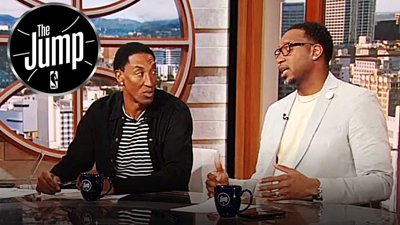 Pippen Disagrees To T-Mac Saying Carmelo Anthony Should Come Off The Bench | The Jump