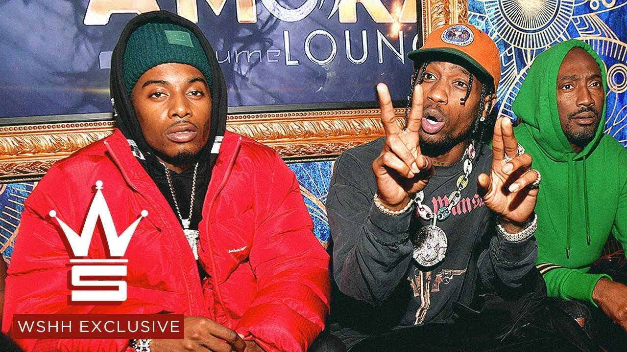 "Playboi Carti Feat. Travis Scott ""Love Hurts"" (WSHH Exclusive – Official Audio)"