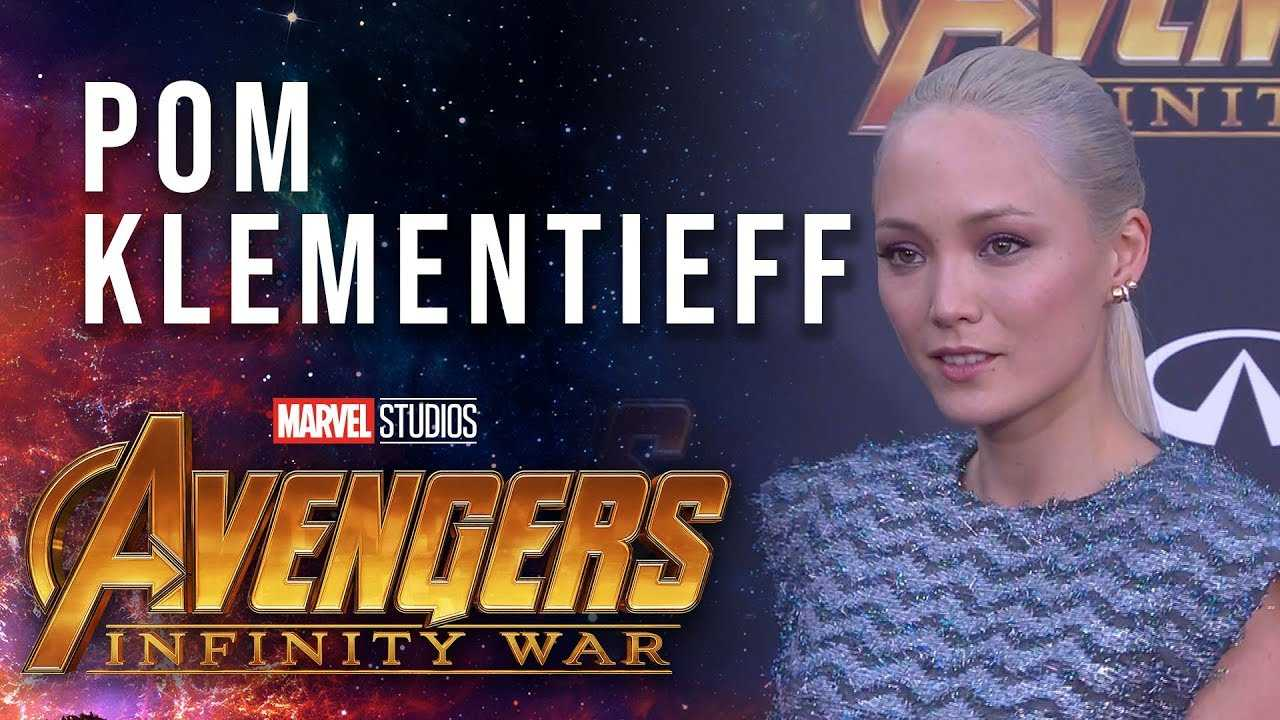 Pom Klementieff Live at the Avengers: Infinity War Premiere