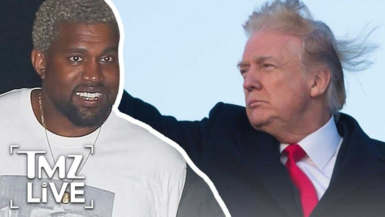 President Trump Thanks Kanye West! | TMZ Live