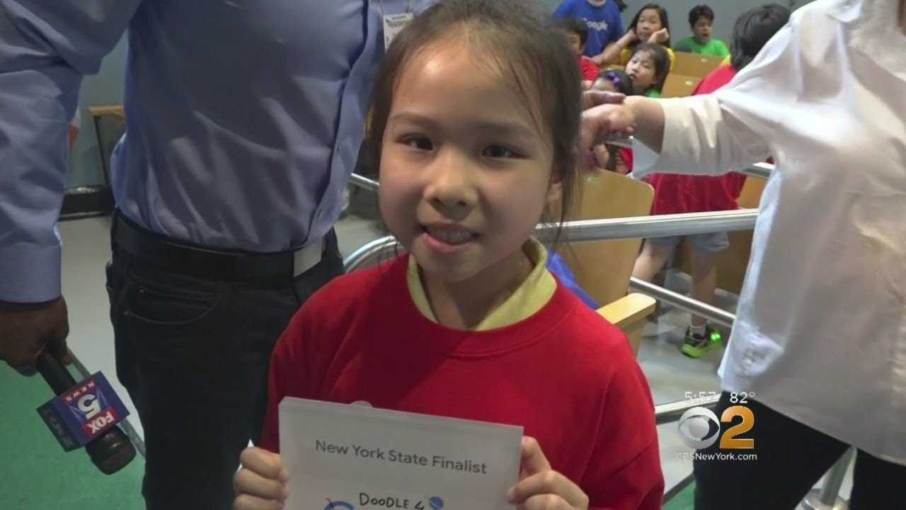 Queens 8-Year-Old Wins 'Doodle 4 Google' Competition