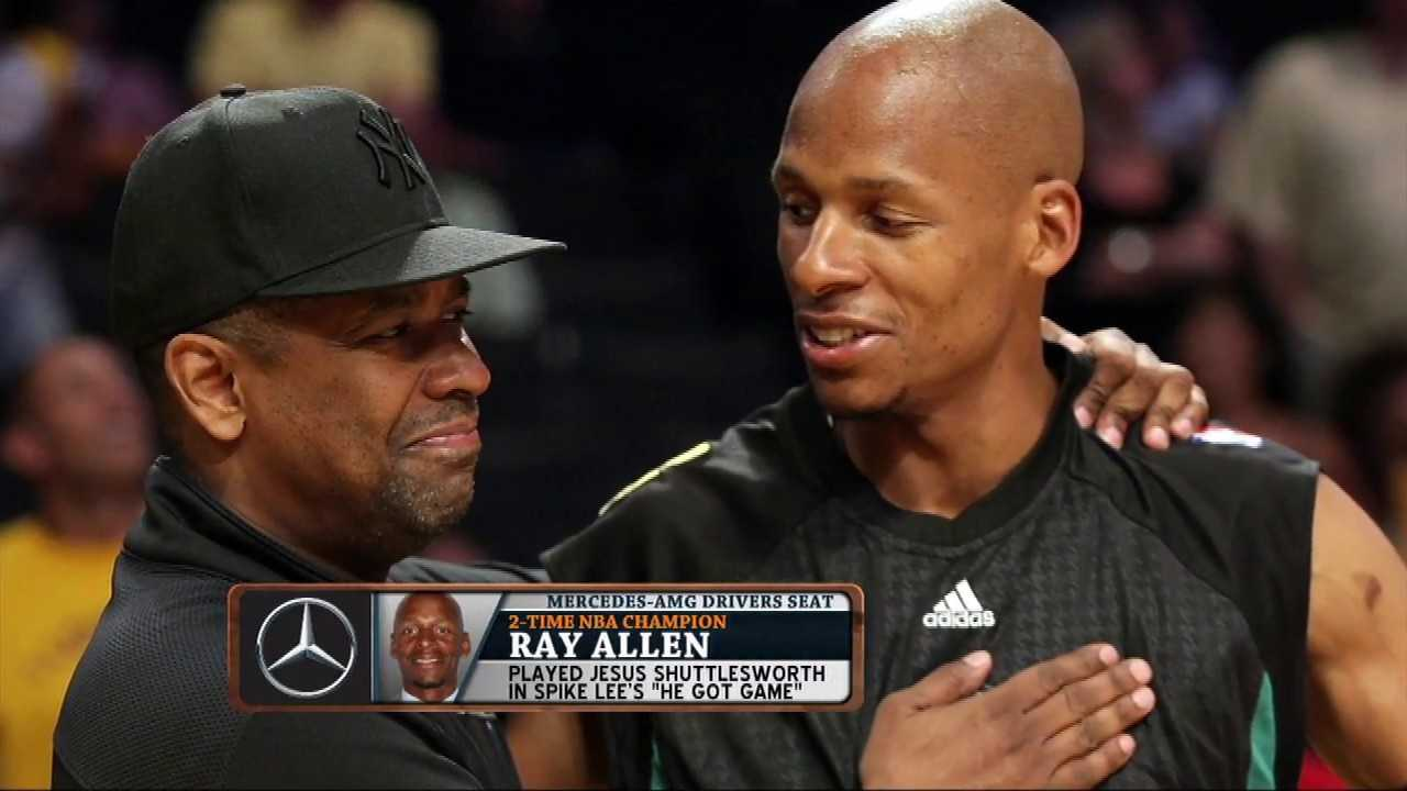 "Ray Allen Talks ""He Got Game"" Sequel, If Denzel Really Schooled Him 