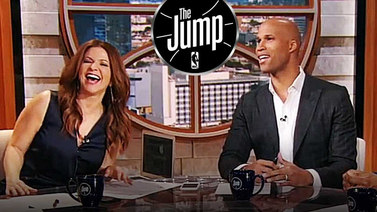 Richard Jefferson Suggests Steph Curry To Get His Knee Ready Before Facing Rajon Rondo | The Jump