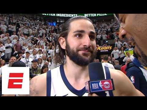 Ricky Rubio on responding to Russell Westbrook: 'We're here to win games and that's it' | ESPN