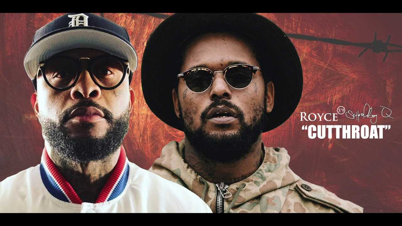 "Royce Da 5'9 x Schoolboy Q ""Cutthroat"" (OFFICIAL AUDIO)"