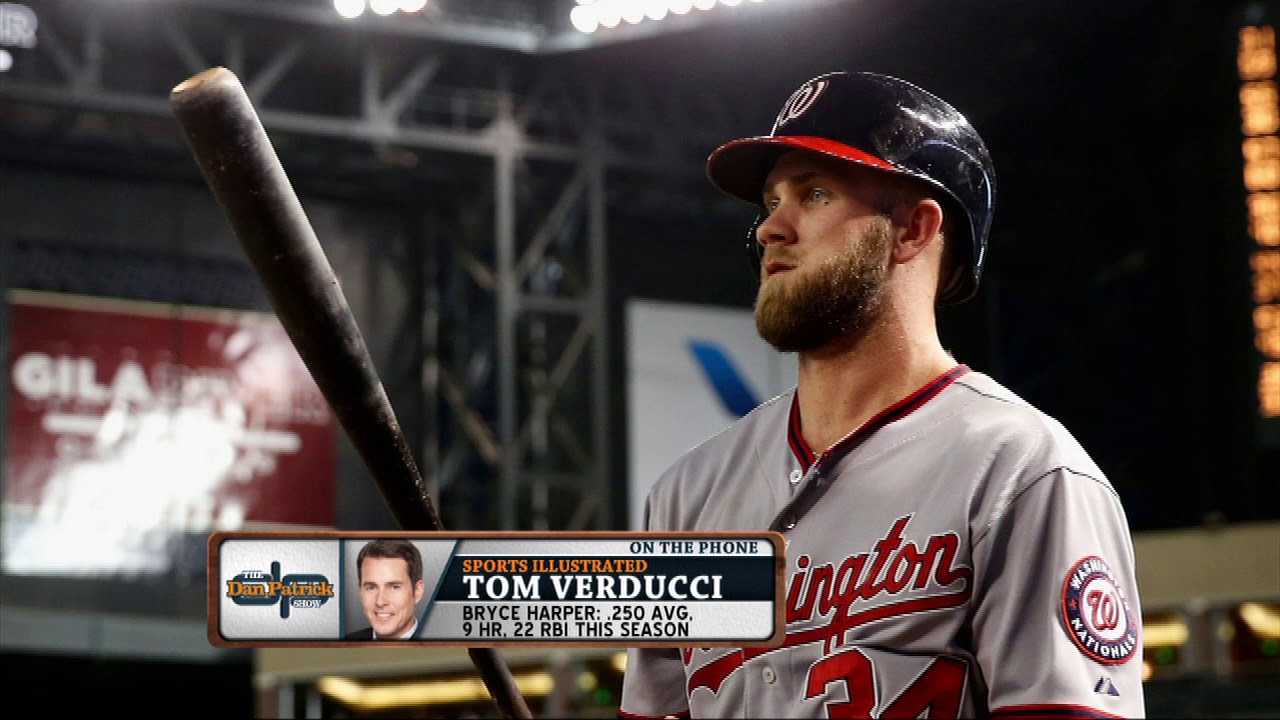 S.I.'s Tom Verducci: Bryce Harper Will Be 1st $400 Million Player | The Dan Patrick Show | 5/2/18
